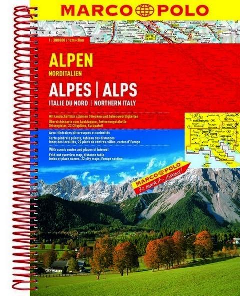 Atlas Rutier Alpii Nord- Italieni