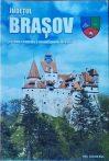Judetul Brasov - zona centrala Brasov - harta pliabila