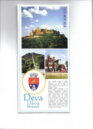Municipiul Deva - harta pliabila