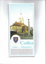 Municipiul Codlea - harta pliabila