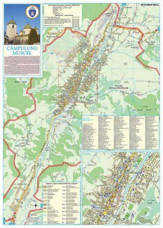 Municipiul Campulung - harta pliabila
