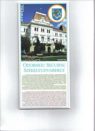 Municipiul Odorhei Secuiesc - harta pliabila