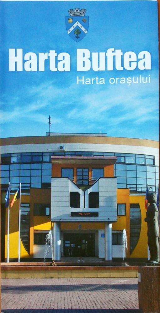 Oras Buftea Harta Pliabila Stiefel Romania