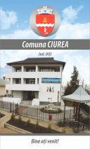 Comuna Ciurea - Harta pliabila