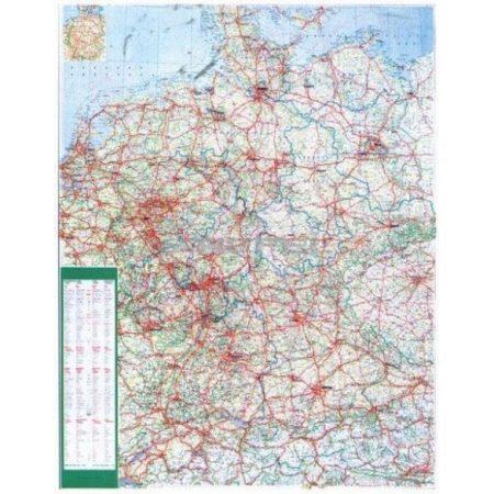 Harta Germania Rutieră
