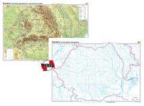 România. Harta fizico-geografică și a resurselor naturale de subsol – Duo
