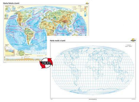 Harta fizică a Iumii – Duo