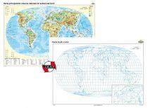 Harta principalelor resurse naturale de subsol ale lumii – Duo