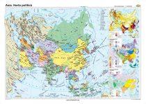 Asia. Harta politică