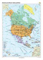 America de Nord. Harta politică