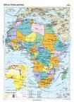 Africa. Harta politică