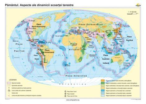 Pământul. Aspecte ale dinamicii scoarţei terestre