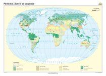Pământul. Zonele de vegetaţie