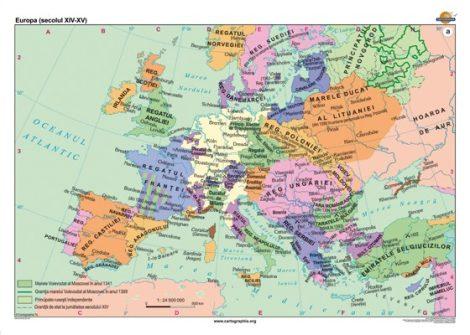 Europa (secolul XIV-XV)