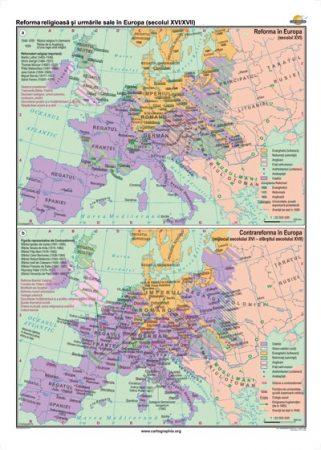 Reforma religioasă şi urmările sale în Europa (secolul XVI-XVII)