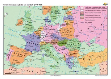Europa între cele două războaie mondiale (1919-1938)