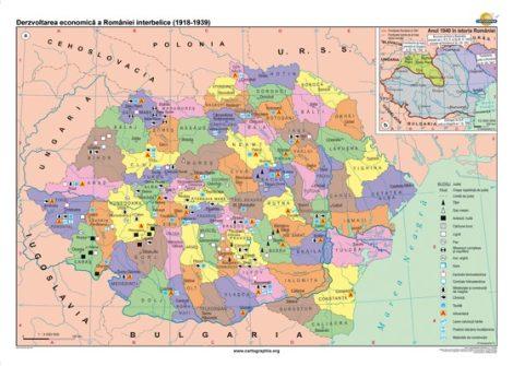 Dezvoltarea economică a României interbelice (1919-1938)