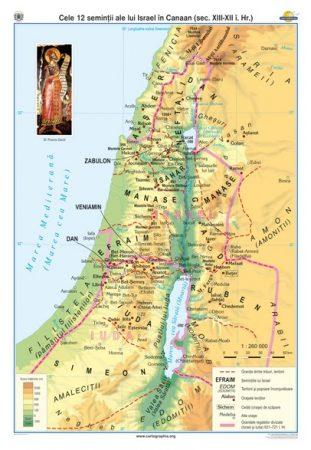 Cele 12 seminţii ale lui Israel în Canaan (sec XIII–XII î. Hr.)