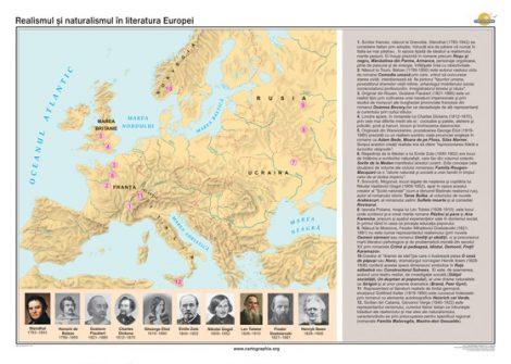 Realismul şi naturalismul în literatura Europei