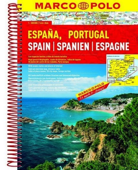 Atlas Rutier Spania Si Portugalia Stiefel Romania