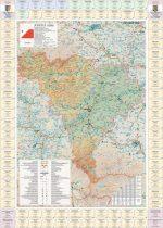 Harta Judetului Alba cu primarii