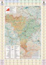 Harta județului  Alba cu primării