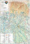 Harta Judetului Arges 70x100 cm sipci plastic