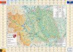 Harta județului Bacău cu primării