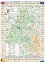 Harta Judetului Bihor cu primarii