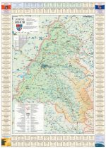 Harta judetului Bihor cu primării