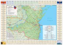 Harta județului Constanța cu primpării