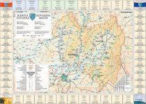 Harta Judetului cu primarii Covasna
