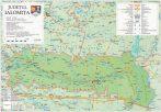 Harta județului Ialomița, șipci plastic