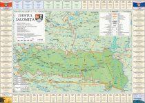 Harta Judetului Ialomita cu primarii