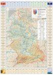 Harta judetului Hunedoara cu primării