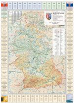 Harta Judetului Hunedoara cu primarii