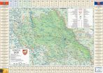 Harta județului Iași cu primării
