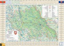 Harta Judetului Iasi cu primarii