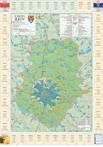 Harta județului Ilfov cu primării