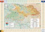 Harta județului Maramureș cu primării