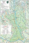 Harta județului Olt, șipci plastic