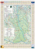 Harta județului Olt cu primării