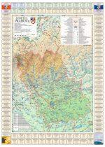 Harta județului Prahova cu primării