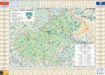 Harta Judetului Satu Mare cu primarii