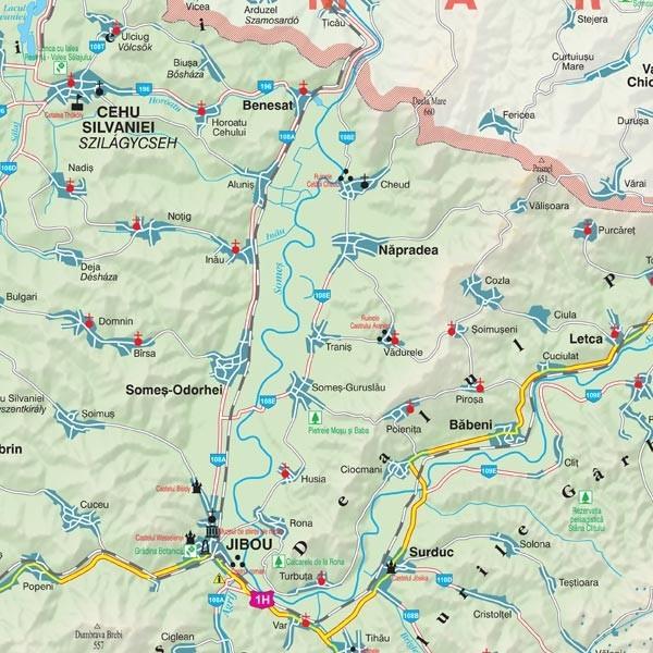 Harta Salaj In Rama De Aluminiu Stiefel Romania