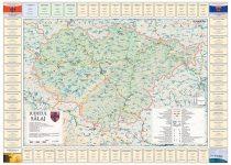 Harta județului Sălaj cu primării