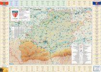 Harta Județului Sibiu cu primării