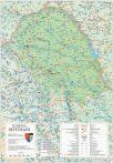 Harta județului Botoșani, șipci plastic