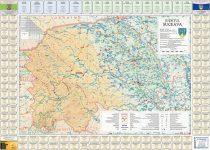 Harta județului Suceava cu primarii