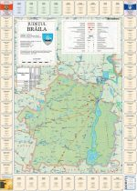 Harta Judetului cu primarii Braila